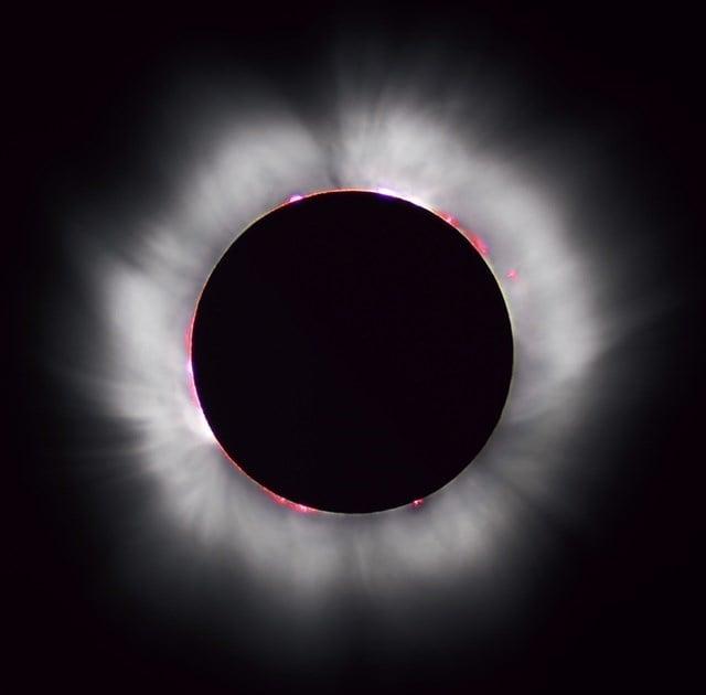 Total Solar Eclipse (Source: Mesa Now)