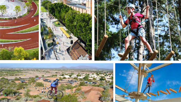 Plans for adventuring and climbing areas of Wellspring Park. (Source: City of Goodyear)