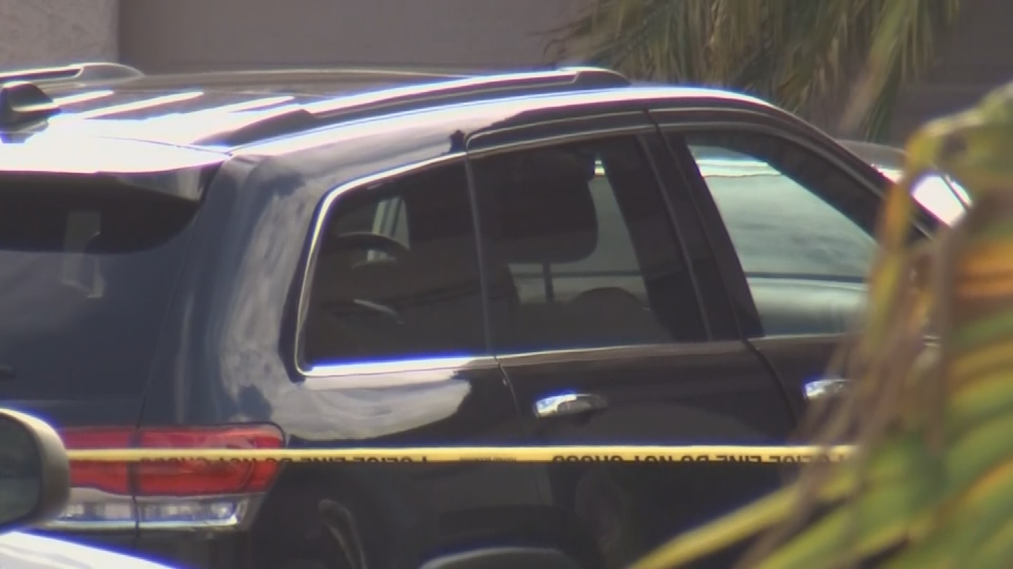 A 7-month-old boy died in a hot car in north Phoenix on Friday. (Source: 3TV/CBS 5)