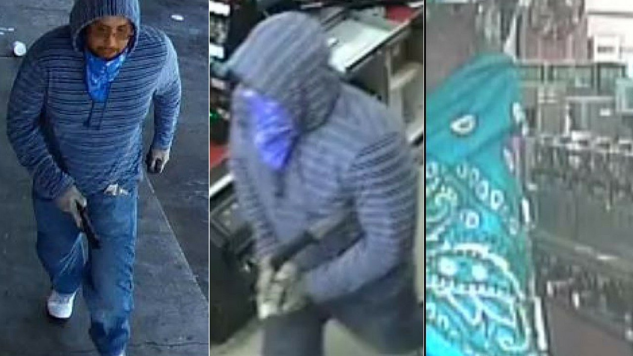 Phoenix police are searching for a suspect who robbed a Circle K while wielding a machete on July 26. (Source: 3TV/CBS 5)