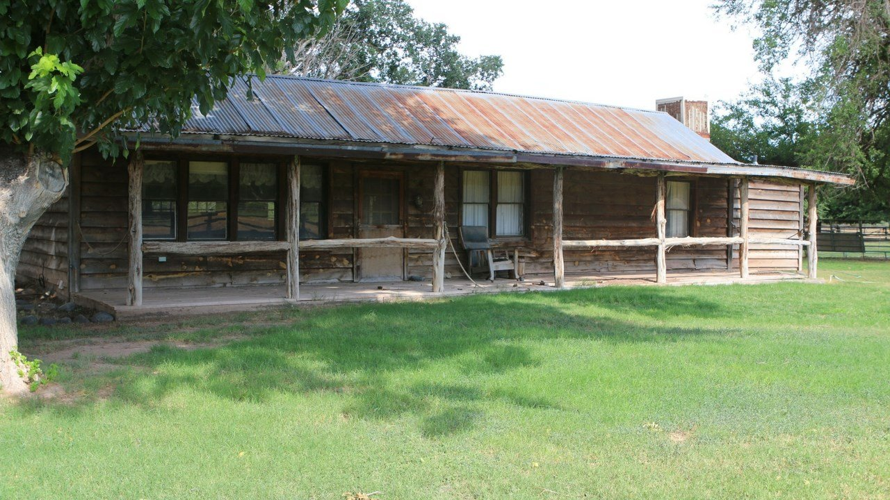 Arizona State Parks and Trails plans to repurpose exisiting buildings to preserve Rockin' River Ranch's character. This building will become a convenience store. (Photo by Alexis Kuhbander/Cronkite News)
