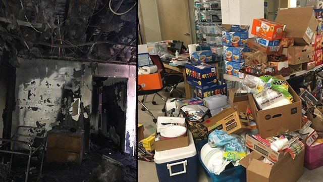 A LGBTQ youth center lost everything in a fire but donations from all over the country have poured in. (Source: 3TV/CBS 5/one•n•ten)