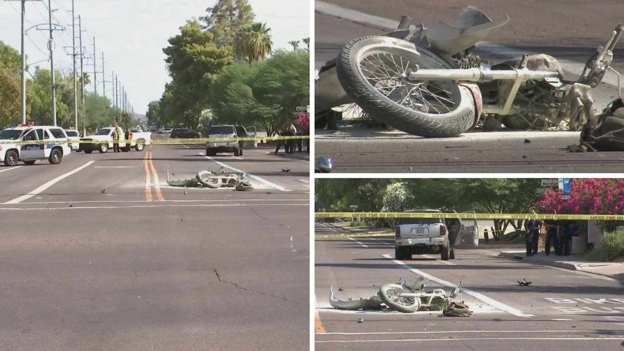 Witnesses told officers that the collision may be the result of someone who ran a red light. (Source: 3TV/CBS 5)