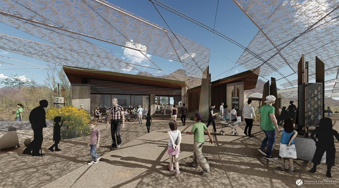 Desert EDGE is a proposed desert education facility at the Gateway and McDowell Sonoran Preserve. (Source: Desert Discovery Center Scottsdate)