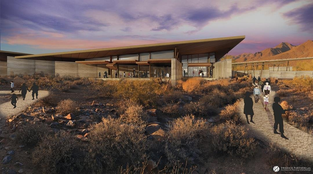The proposed center will improve worldwide understanding of arid ecosystems. (Source: Desert Discovery Center Scottsdale)