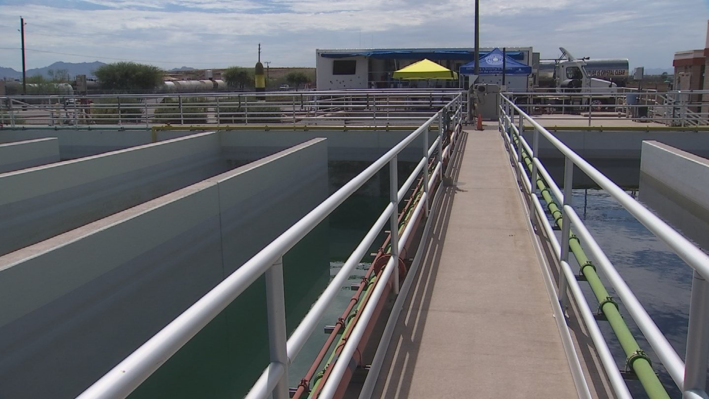 The wastewater will be coming from the City of Phoenix 23rd Avenue Wastewater Treatment Plant and will be delivered directly to the local breweries. (Source: 3TV/CBS 5)