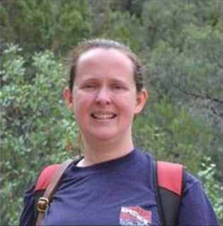 Sarah Beadle is from Fort Worth,  Texas. (Source: Grand Canyon National Park)