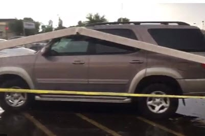 Close call in an Albertson's parking lot (Source: 3TV/CBS 5)