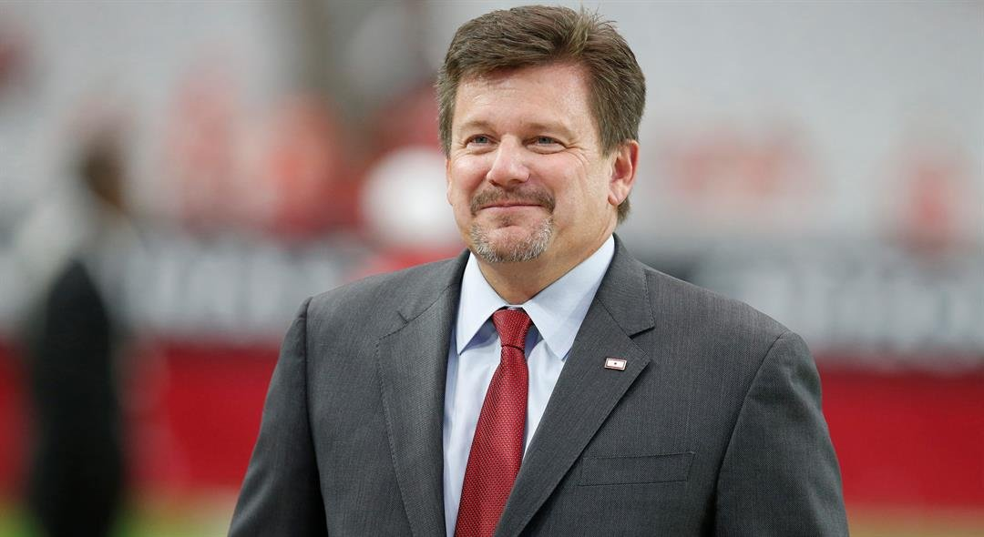 Cardinals Owner Michael Bidwill (AP Photo/Rick Scuteri)