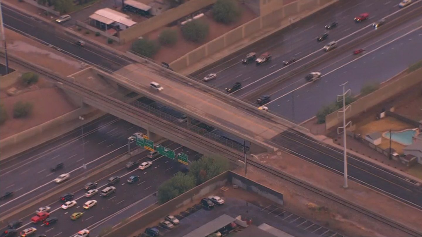 U.S. 60 and Mill Avenue. (Source: 3TV/CBS 5)