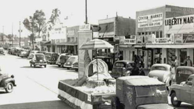Downtown Gilbert had quite a different look back in the 1940s when the town was still just a small farming community that would eventually blossom into what it is today. (Source: 3TV/CBS 5)