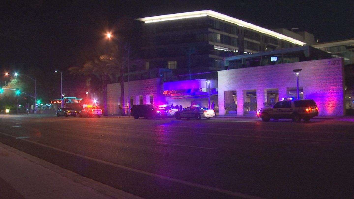 Investigators learned that a man had been laying down on a ramp leading from the ground level to the lower level parking garage. (Source: 3TV/CBS 5)
