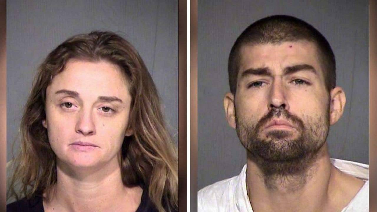 Metika Najar, 36 and Leviticus Najar, 32. (August 7, 2017) [Source: Maricopa County Sheriff Dept.]