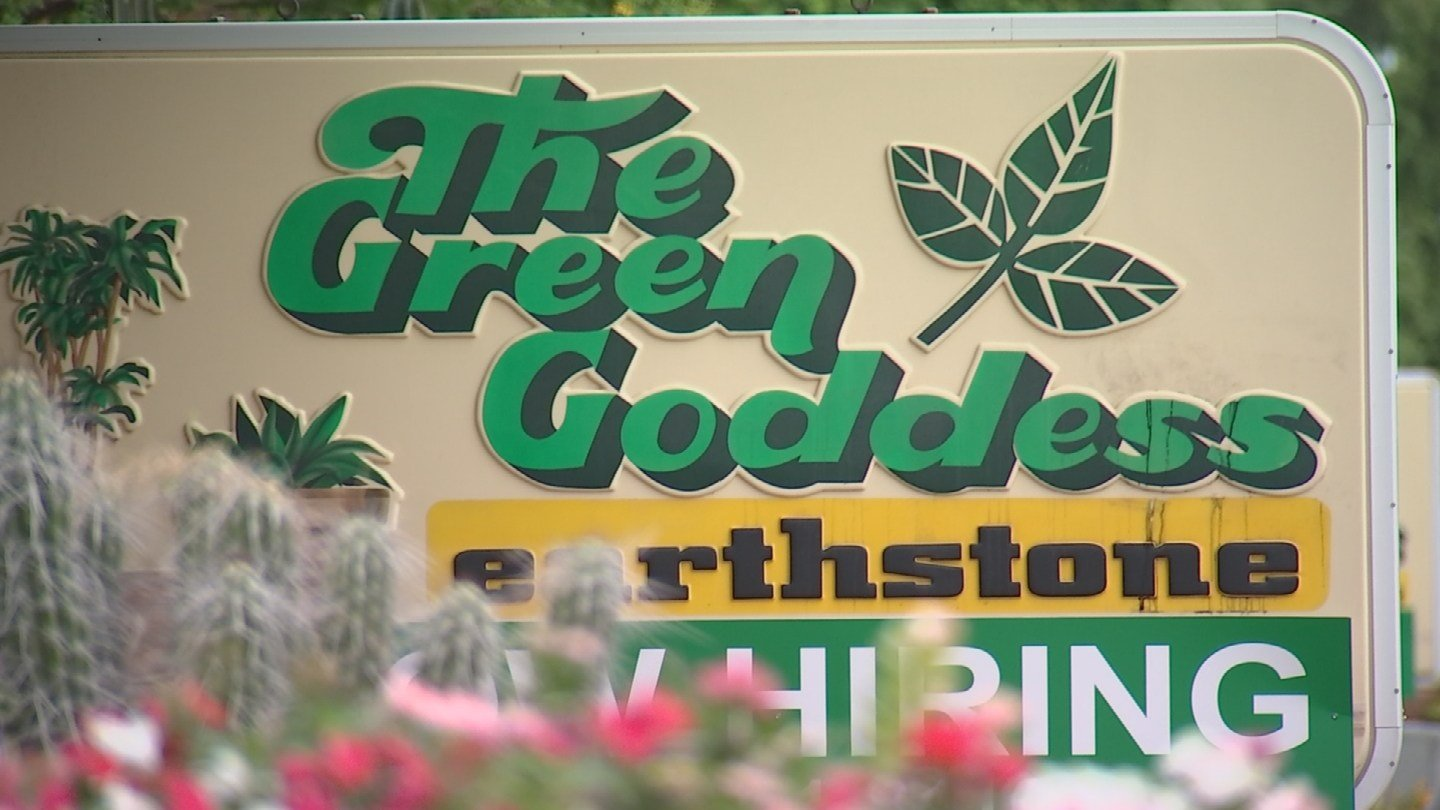 If you've traveled along Bell Road and 41st Street you've passed right byThe Green Goddess. (Source: 3TV/CBS 5)
