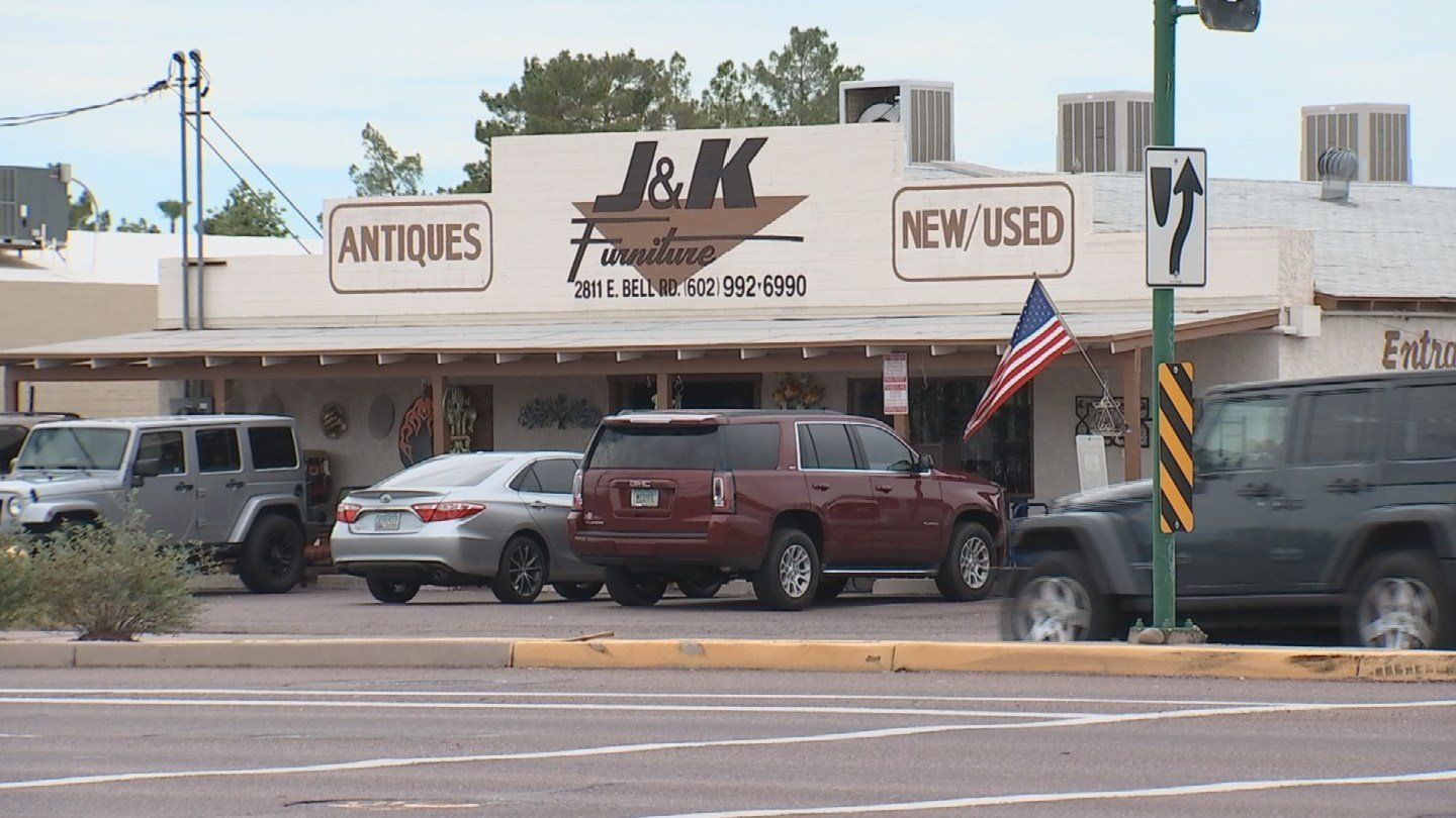 J & K Furniture has been in the same spot since 1964, it used to be a house too. (Source: 3TV/CBS 5)