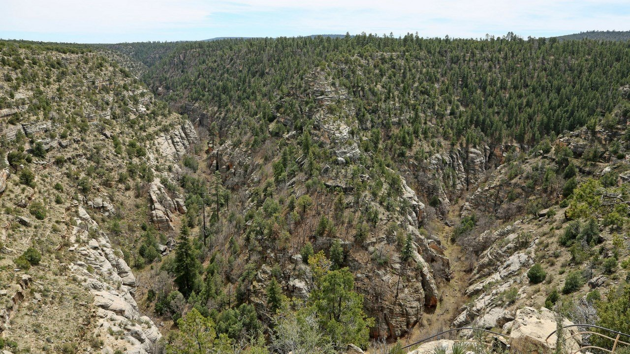 (File photo of Walnut Canyon National Park)