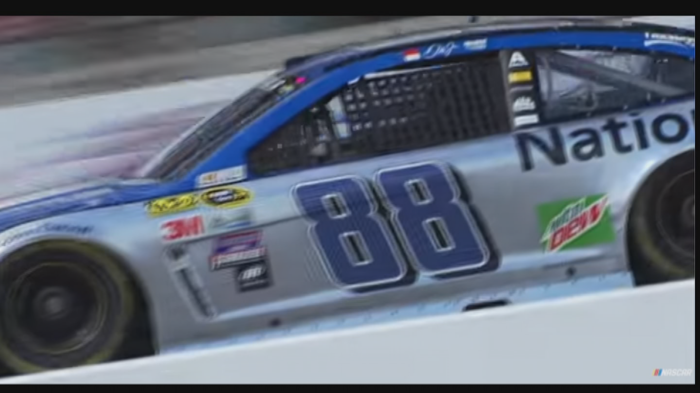 He won the pole and lead for 194 laps in Phoenix last November before a collision with Kyle Busch. (Source: YouTubeNASCAR)
