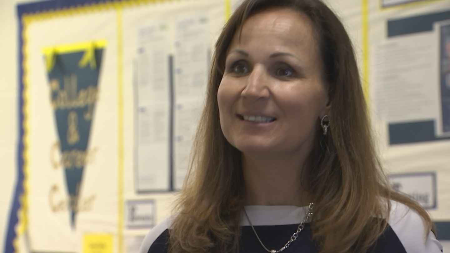 Casteel High School principal Sandy Lundberg said they've created other ways to make teaching here more appealing. (Source: 3TV/CBS 5)