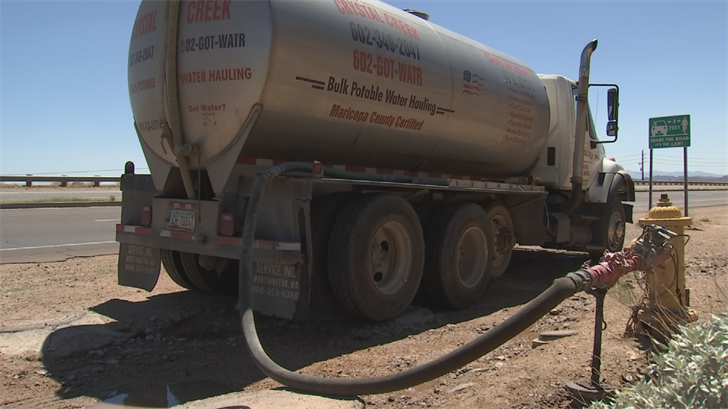 Rural homeowners living outside Phoenix could feel the impact by the City's move to protect its water supply. (Source: 3TV/CBS 5)