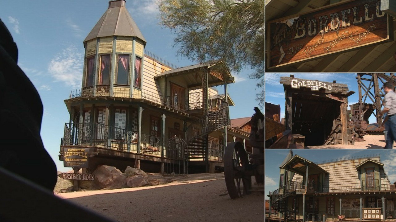 Goldfield Ghost Town sits across from the Superstition Mountains on the outskirts of Apache Junction. (Source: 3TV/CBS 5)