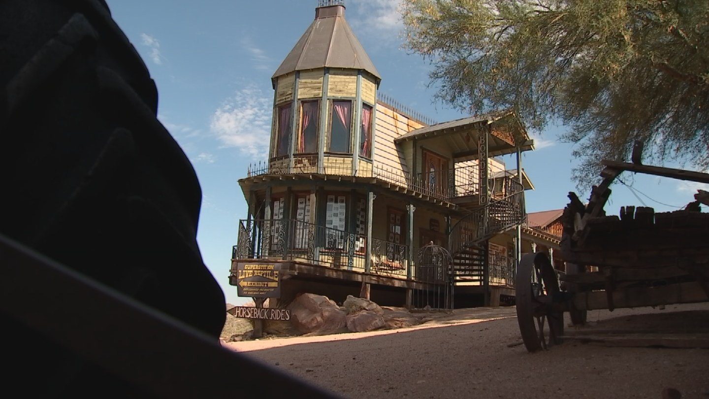 It was here that gold was discovered in the 1890s and soon after became known as Goldfield once it was sold. (Source: 3TV/CBS 5)