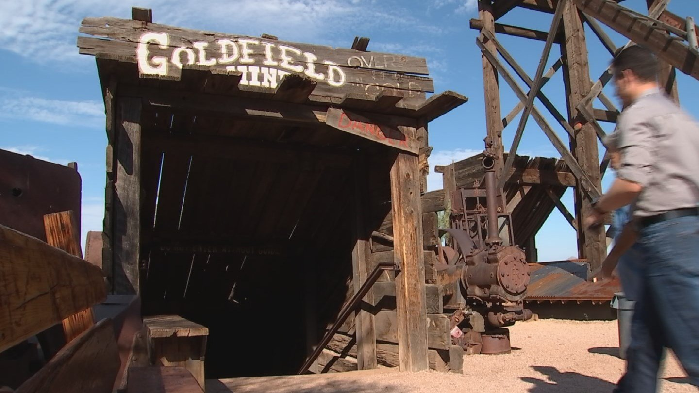 Bob Schoose put everything he had into Goldfield, just to preserve this rich Arizona history and to see kids' faces light up. (Source: 3TV/CBS 5)