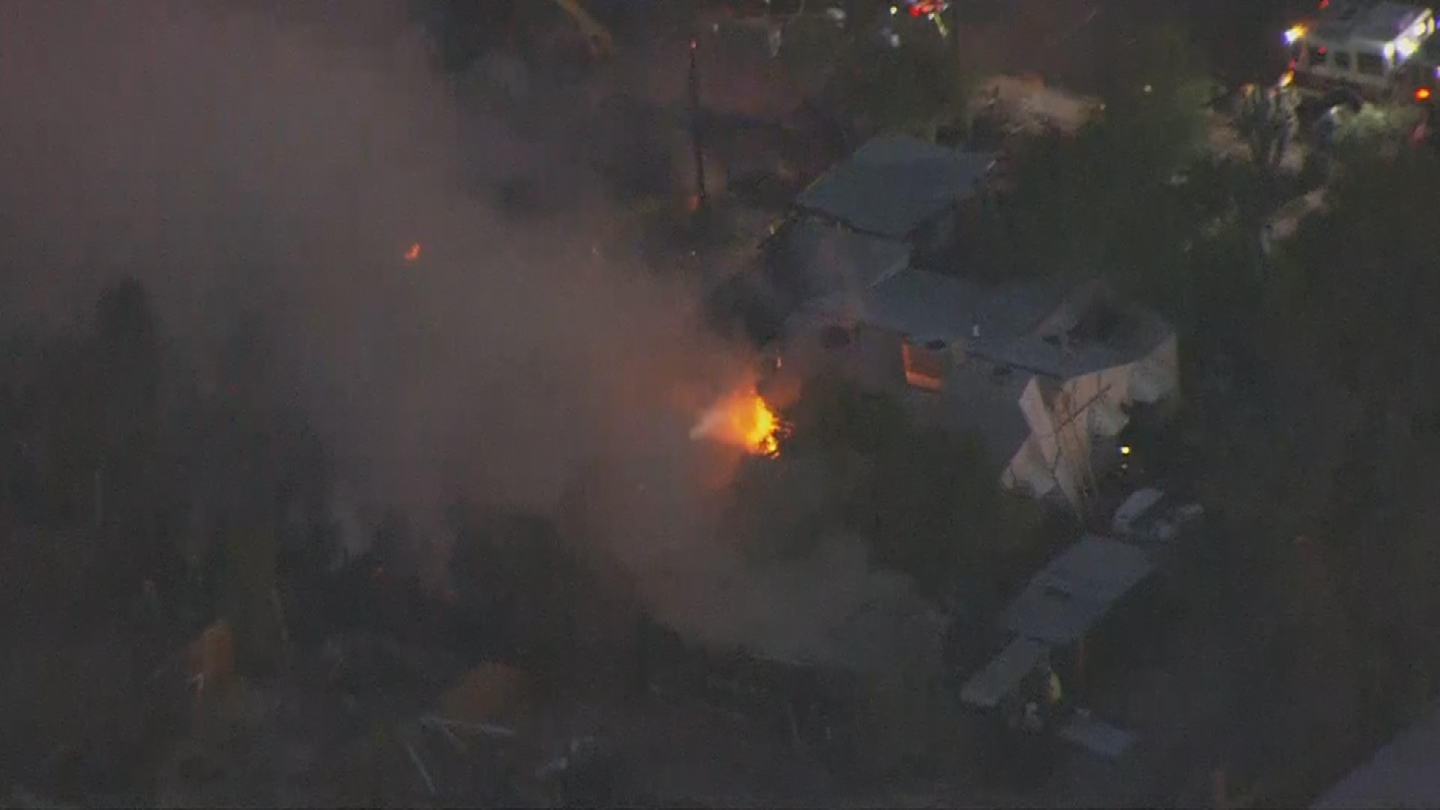 The families were able to get out of the homes OK. (Source: 3TV/CBS 5)