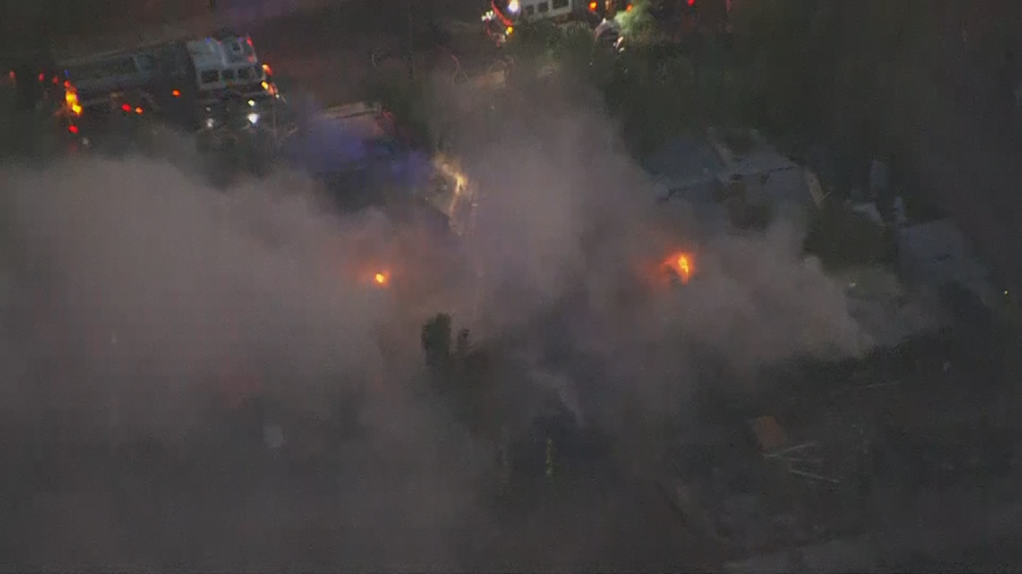 No one was hurt. (Source: 3TV/CBS 5)