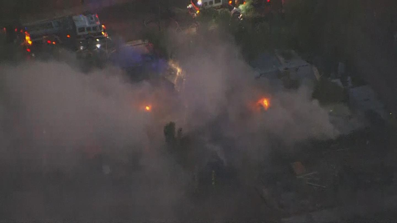 No one was hurt. (Source: 3TV/CBS 5)