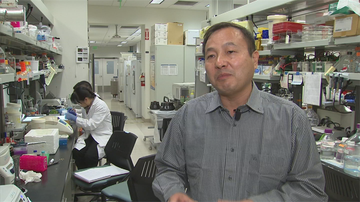 The research is led by Dr. Qiang Chen. (Source: 3TV/CBS 5)