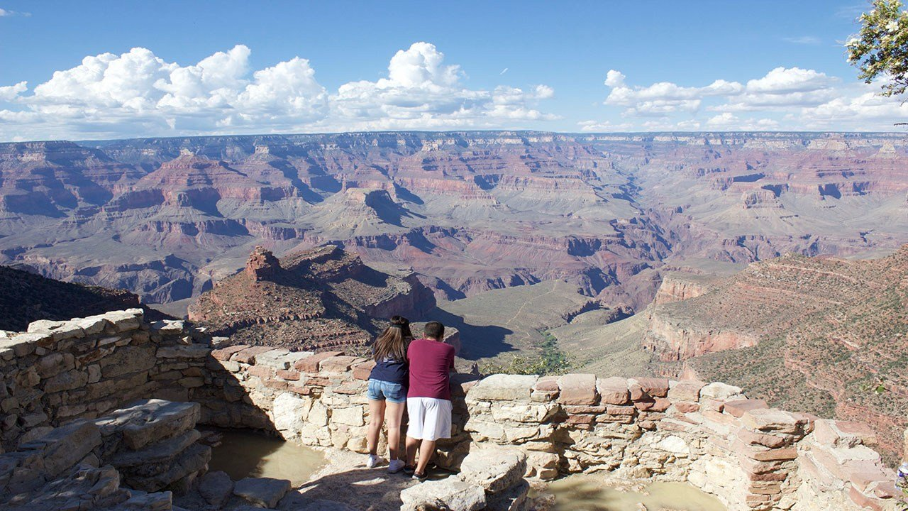 About 6 million people visited the Grand Canyon last year, according to the National Park Service. (Source: Devin Conley/Cronkite News)