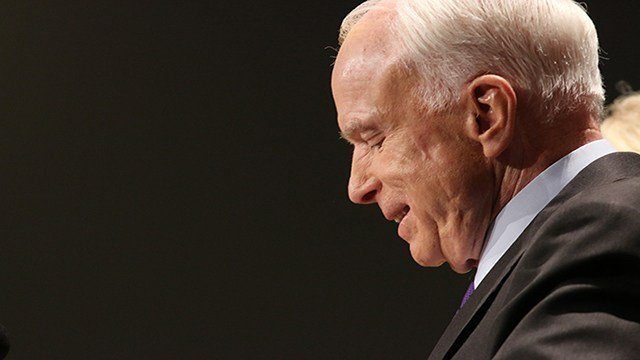 The poll does not appear to have curbed Sen. John McCain. (Source: Keerthi Vedantam/Cronkite News)