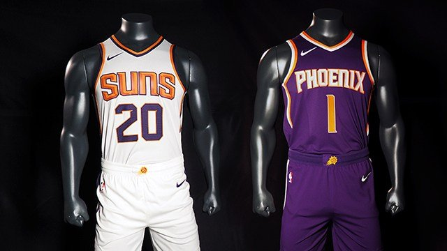 Nike and the Phoenix Suns unveiled new jerseys. (Source: Phoenix Suns)
