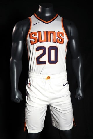 The Suns Association jersey replaces the traditional home uniform. (Source: Phoenix Suns)
