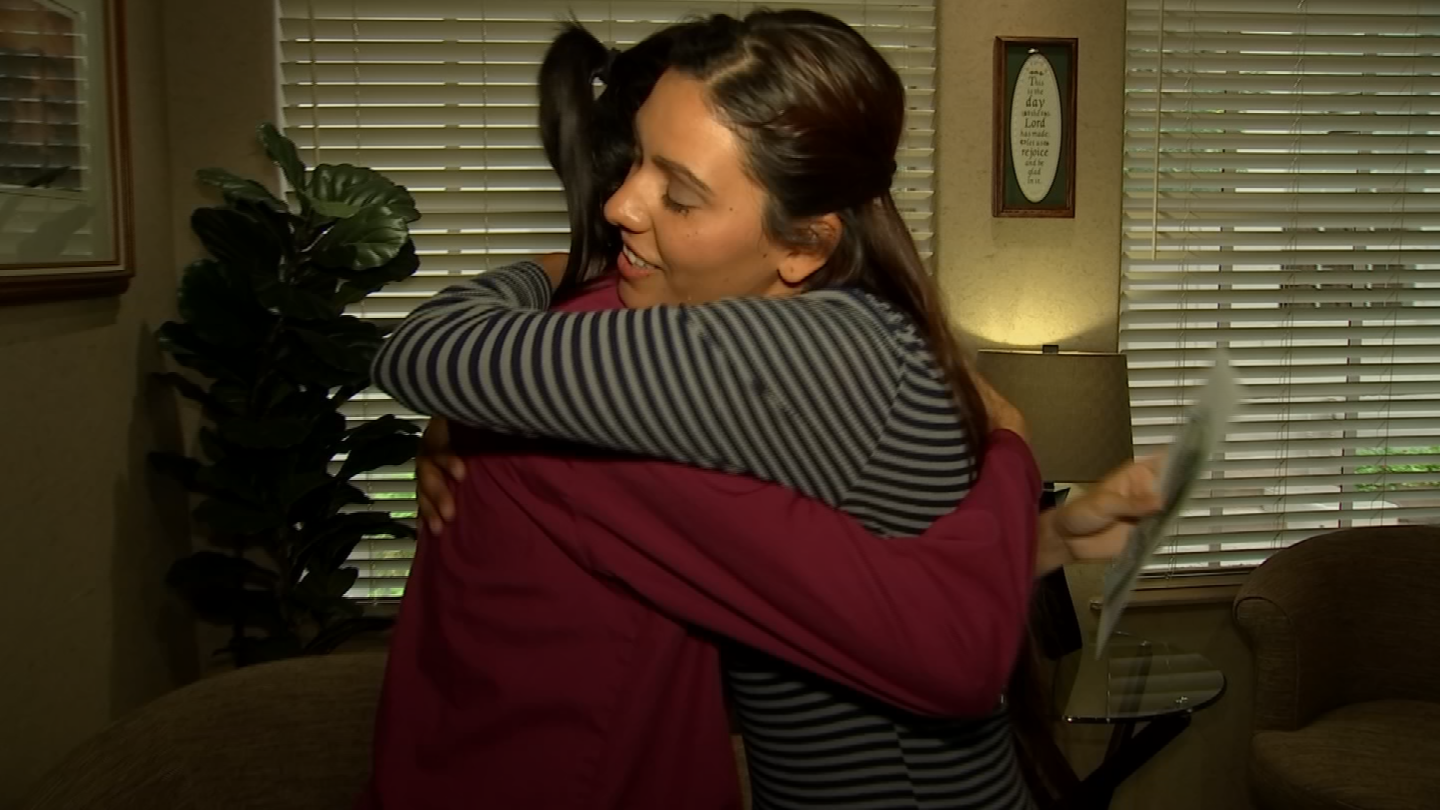 A co-worker, Jazmine Marquez,reached out to CBS 5 to Pay it Forward to Carillo, hoping that a $500 gift wouldhelp the family get an A/C unit a little sooner. (Source: 3TV/CBS 5)