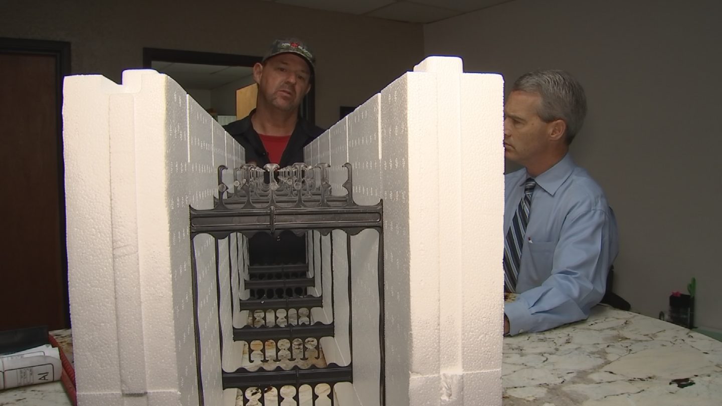 Gary Fetters is co-owner of Division 1 Bunkers in Litchfield Park, a company that specializes in building basements, shelters and safe rooms on residential and commercial properties. (Source: 3TV/CBS 5)