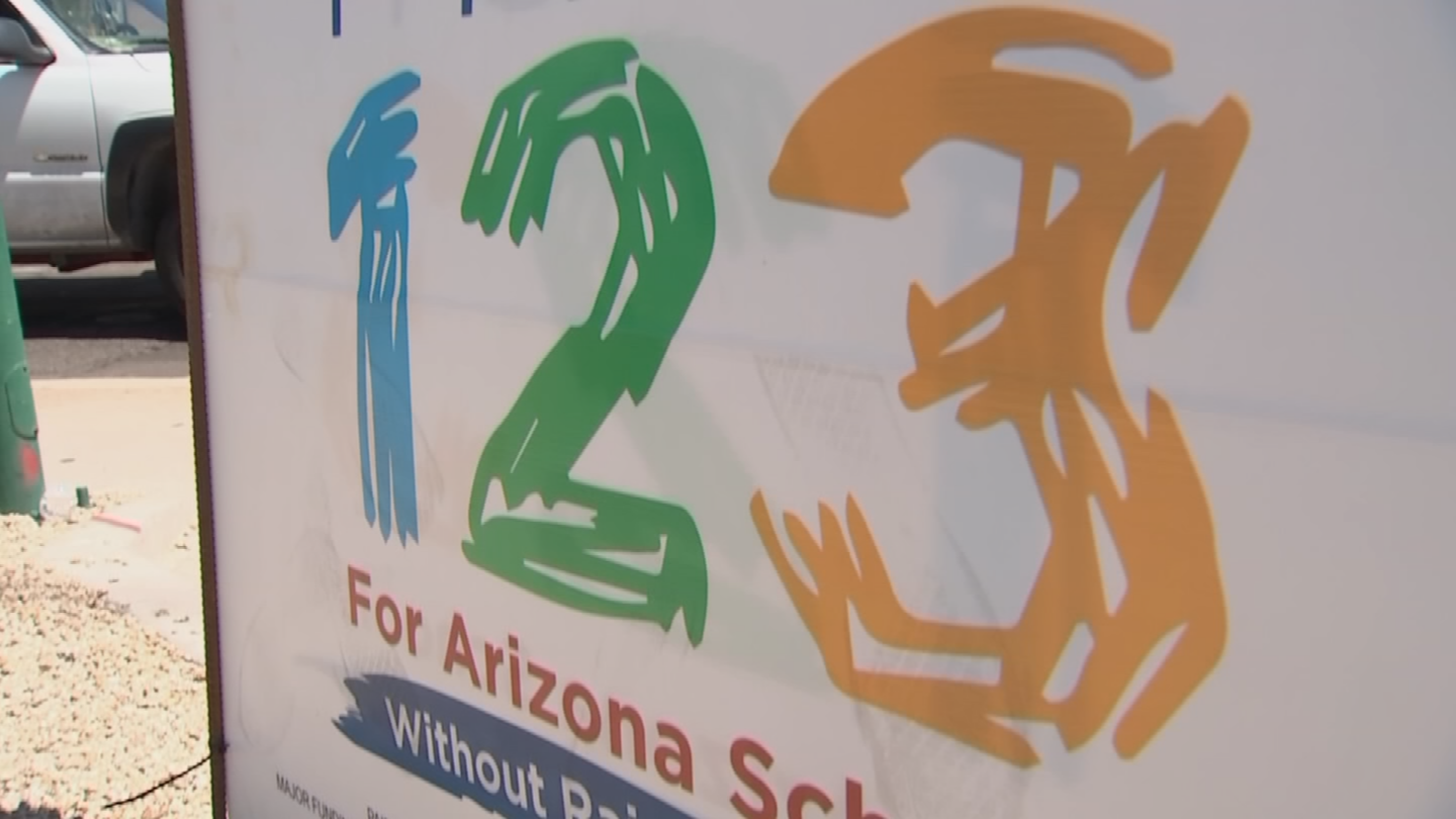 Proposition 123 increased education funding by $3.5 billion over the coming 10 years. (Source: CBS 5)