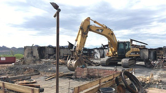 Owners of a beloved East Valley restaurant say they planned to rebuild. (Source: 3TV/CBS 5)