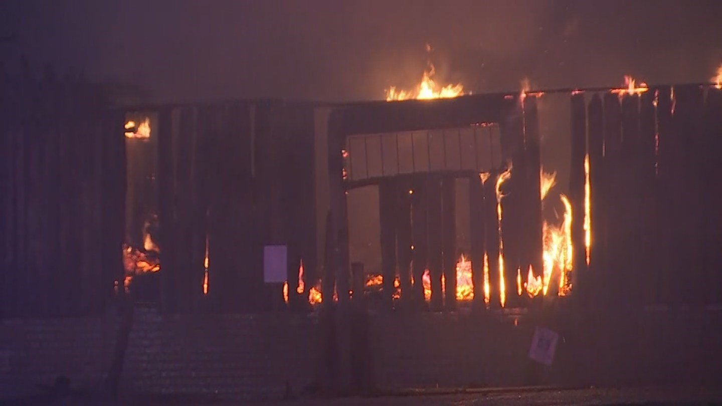 On July 25, a leaky roof sparked a fire at the Mining Camp restaurant. (Source: 3TV/CBS 5)