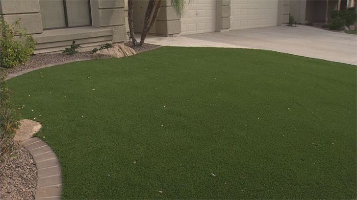 Residents are required to have 50 percent of the front yard and 50 percent of the backyard grass, and two trees. (Source: 3TV/CBS 5)