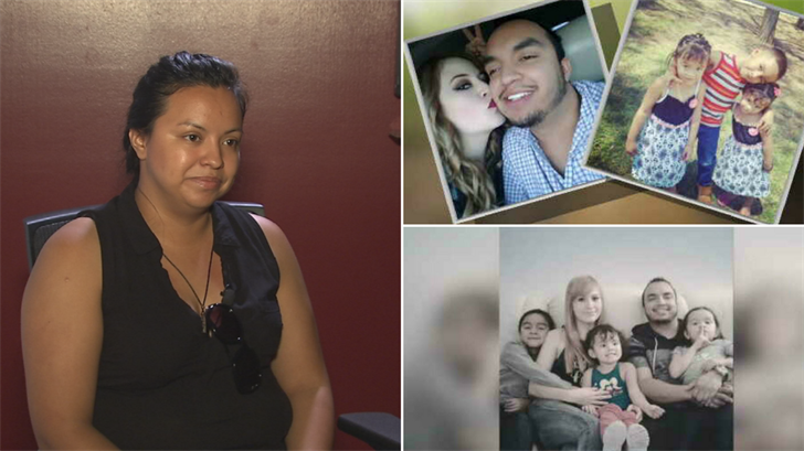 Luz Garnica speaks about the family she lost in a deadly flash flood near Payson. (Source: 3TV/CBS 5)