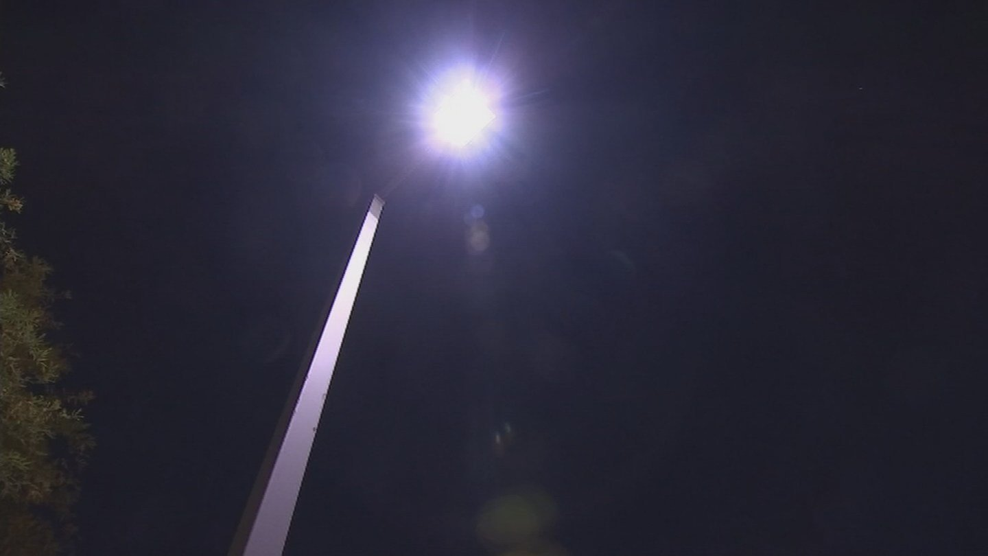 Work on the initial phase for the LED street light conversion project begins August 14, according to the City of Phoenix Street Transportation Department. (Source: 3TV/CBS 5 file photo)