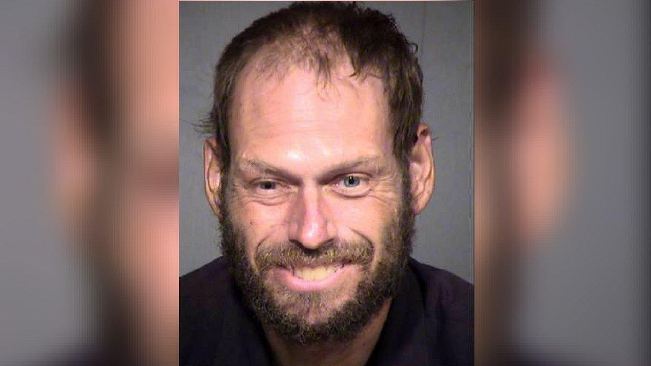 """Scott Schoenfeld reportedly told the police that """"the holy spirit led him to the house and someone donated the house to him.""""(Source: MCSO)"""