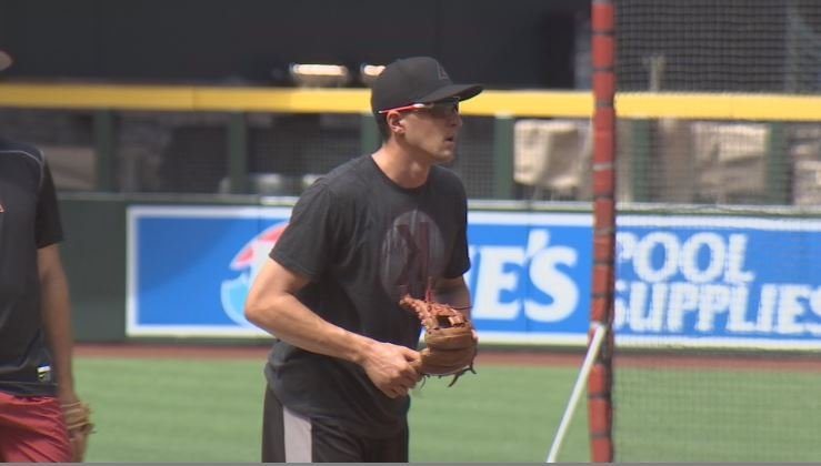 D-backs shortstop Nick Ahmed is aiming to return to the D-backs lineup after a hand injury. (Source: 3TV/CBS 5)