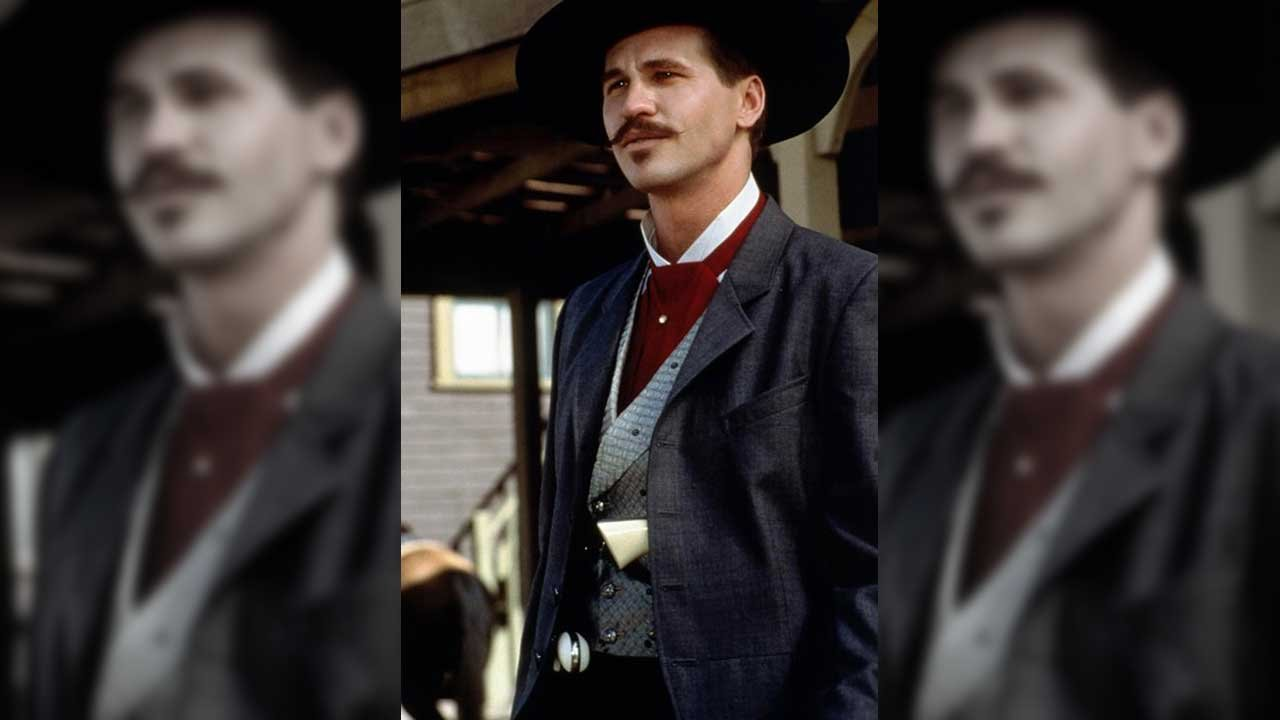 "Val Kilmer as Doc Holliday in ""Tombstone,"" 1993. ( Source: Hollywood Pictures)"