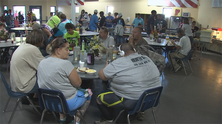 Hundreds of homeless people were given Christmas dinner on Sunday. (Source: 3TV/CBS 5)