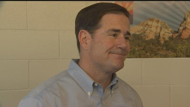 'It's not my desire or mission to tear down any monuments or memorials,' Gov. Doug Ducey said Monday.