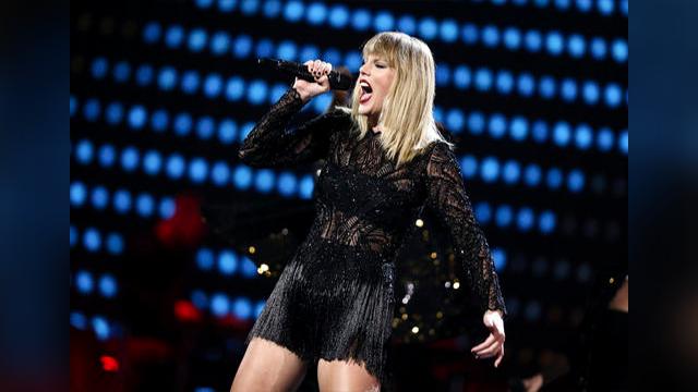 Taylor Swift performs at DIRECTV NOW Super Saturday Night Concert at Club Nomadic on Saturday, Feb. 4, 2017 in Houston, Texas. (Source: John Salangsang/Invision/AP)
