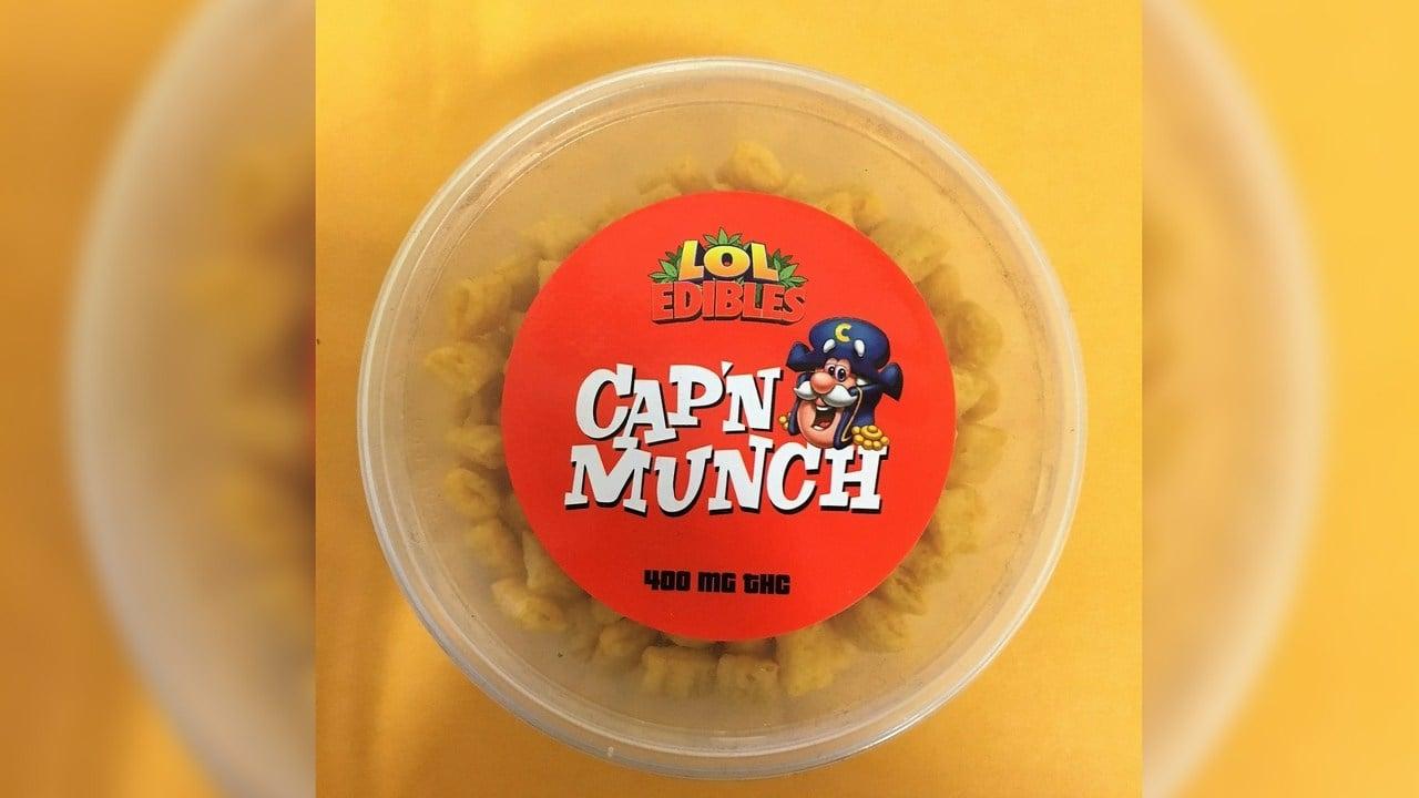 Cap'n Munch. (Source: Yavapai County Sheriff Dept.)