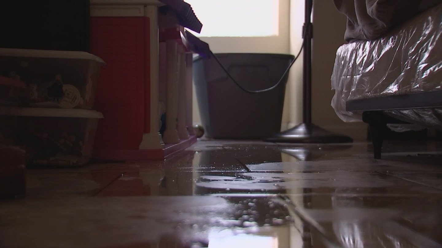 Flooded apartment from this weekends storms. (Source: 3TV / CBS 5 News)